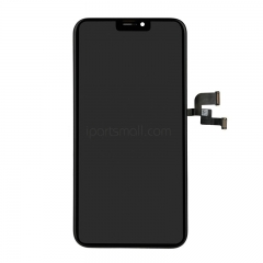 For iPhone X LCD Screen and Digitizer Assembly with Frame - Black Original