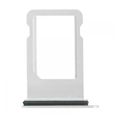 For iPhone 8 SIM Card Tray - Silver - (10PCS/Pack)