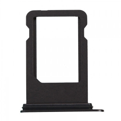 For iPhone 8 SIM Card Tray - Black - (10PCS/Pack)
