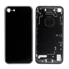 For iPhone 7 Battery Housing Back Cover - Jet Black