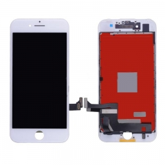 For iPhone 7 LCD Screen Display With Touch Digitizer Assembly - White High Quality