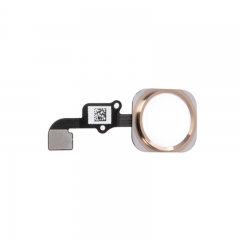 For iPhone 6 Plus Home Button With Flex Cable Assembly - Gold