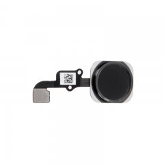 For iPhone 6 Plus Home Button With Flex Cable Assembly - Black