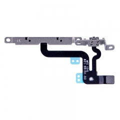 For iPhone 6S Plus Volume Button Flex Cable with Metal Bracket Assembly