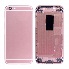 For iPhone 6S Back Cover Battery Housing With Side Buttons And SIM Card Tray - Rose