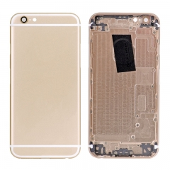 For iPhone 6S Genuine Back Cover Battery Housing With Side Buttons And SIM Card Tray - Gold