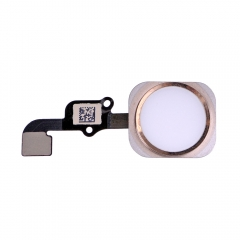 "For iPhone 6S 4.7"" Home Button With Flex Assembly - Gold"