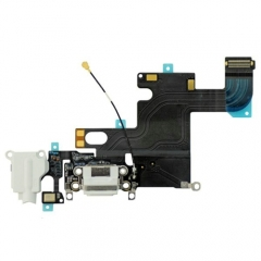 For iPhone 6 Headphone & Dock Charging Flex Cable - White