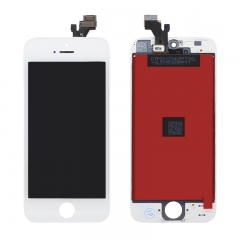 For iPhone 5 LCD Screen With Digitizer and Frame Assembly - White High Quality