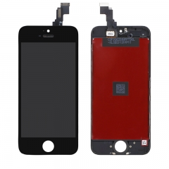 For iPhone 5C LCD Screen With Digitizer and Frame Assembly - Black High Quality