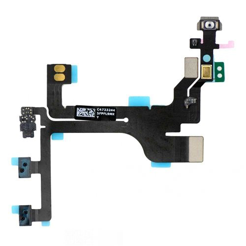 For iPhone 5C Power Volume Control Flex Cable (821-1916-A)