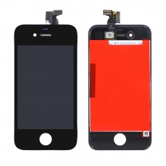 For iPhone 4 LCD Screen With Digitizer and Frame Assembly - Black AAA