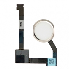 For iPad Air 2 Home Button With Flex Cable Assembly - White