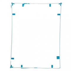 For iPad 4 Touch Screen Supporting Frame With Adhesive - White