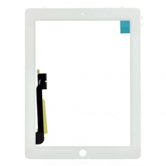 For iPad 3 Touch Screen Digitizer Original White