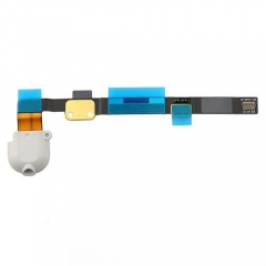For iPad Mini 2/3 Headphone Jack Flex Cable - White