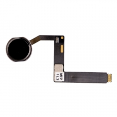 "For iPad Pro 9.7"" Home Button Assembly with Flex Cable Ribbon - Black"