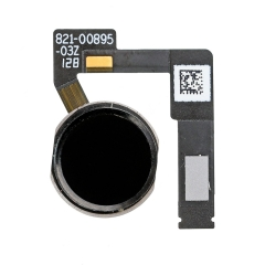 "For iPad Pro 10.5"" Home Button Assembly with Flex Cable Ribbon - Black"