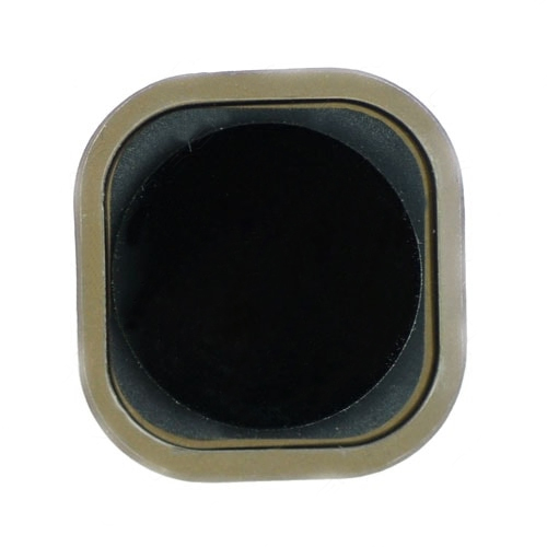 For iPod Touch 5th Gen Home Button with Gasket -Black