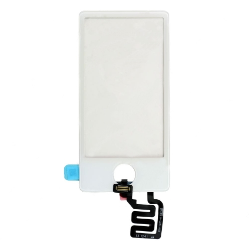 For iPod Nano 7th Gen Touch Screen Digitizer - White
