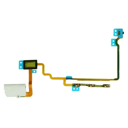 For iPod Nano 7th Gen Headphone Audio Jack Flex Cable - White