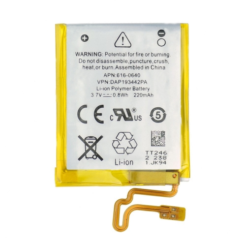 For iPod Nano 7th Gen Battery Replacement