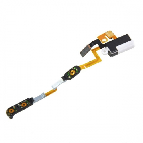 For iPod Nano 6th Gen Headphone Jack Flex Cable with Metal Plate