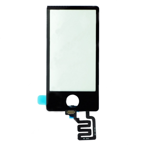For iPod Nano 7th Gen Touch Screen Digitizer - Black