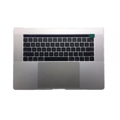 "For Macbook Pro 15.4"" 2016 A1707 Topcase Palmrest Touch Bar with US Keyboard with Trackpad Assembly Space Grey Silver"