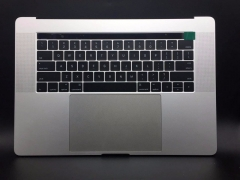For Macbook Pro A1707 15.4'' Palmrest Top Case With Touch Bar US Keyboard Trackpad and Battery Assembly Space Grey Silver