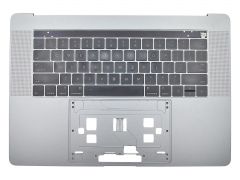 "For Macbook Pro 15.4"" A1707 Topcase Palmrest Touch Bar with US Keyboard Assembly Space Grey Silver"