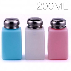 1PCS Random Color 200ML Alcohol Bottle Container Bottles Liquild Container