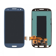 For Samsung Galaxy S3 LCD Screen Display Assembly - Blue