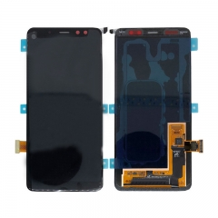 For Samsung Galaxy A8 2018 A530 SM-A530 LCD Screen Touch Digitizer Assembly - Black
