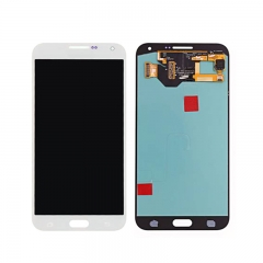 For Samsung Galaxy E7 E700 LCD Display Touch Screen Digitizer Assembly - White