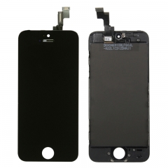 For iPhone 5S LCD Screen With Touch Digitizer and Frame Assembly - Black Original