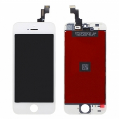 For iPhone 5S iPhone SE LCD Screen With Digitizer and Frame Assembly- White High Quality