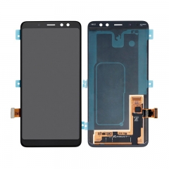 For Samsung Galaxy A8+ A8 Plus 2018 A730 A730F/DS LCD Display Touch Screen Digitizer Assembly- Black