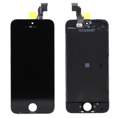 For iPhone 5C LCD Screen With Digitizer and Frame Assembly - Black Original