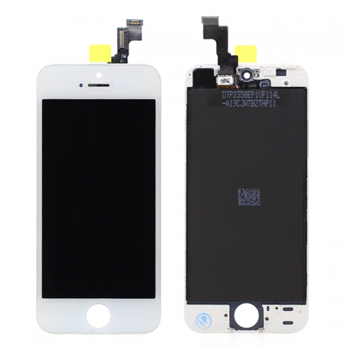 For iPhone 5S iPhone SE LCD Screen Display With Touch Digitizer Assembly - White Original