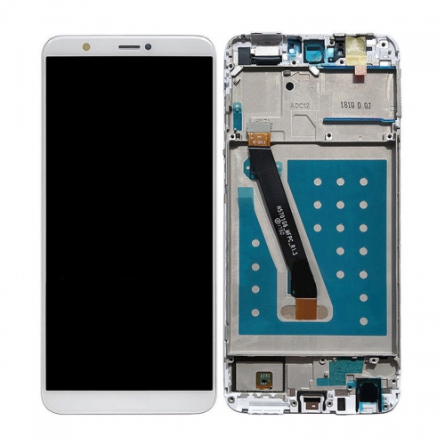 For Huawei P Smart / Enjoy 7S LCD Display Touch Screen Assembly With Frame - White
