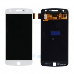 For Motorola Moto Z Play Droid XT1635 LCD Display Touch Screen Digitizer Assembly - White