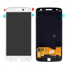 For Motorola Moto Z XT1650 LCD Display Touch Screen Digitizer Assembly - White
