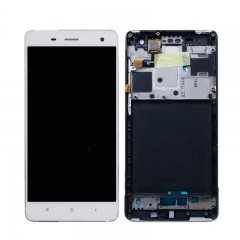 For Xiaomi Mi4 Mi 4 LCD Screen Display Touch Digitizer Assembly With Frame White