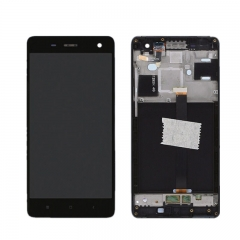 For Xiaomi Mi4 Mi 4 LCD Screen Display Touch Digitizer Assembly With Frame Black