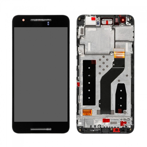 For Google Huawei Nexus 6P H1511 H1512 LCD Screen Display Touch Screen Digitizer Assembly With Frame - Black