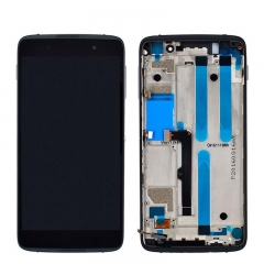 For Blackberry DTEK50 DTEK 50 LCD Screen Display Touch Digitizer Assembly With Frame Black