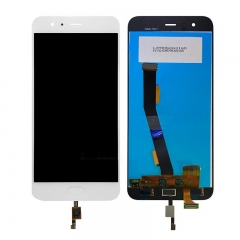 For Xiaomi Mi6 Mi 6 LCD Display Touch Screen Digitizer Assembly With Fingerprint Sensor White
