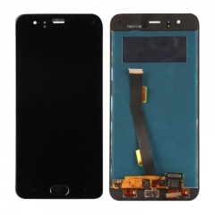 For Xiaomi Mi6 Mi 6 LCD Display Touch Screen Digitizer Assembly With Fingerprint Sensor Black