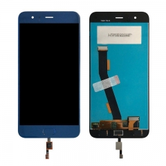 For Xiaomi Mi6 Mi 6 LCD Display Touch Screen Digitizer Assembly With Fingerprint Sensor Blue